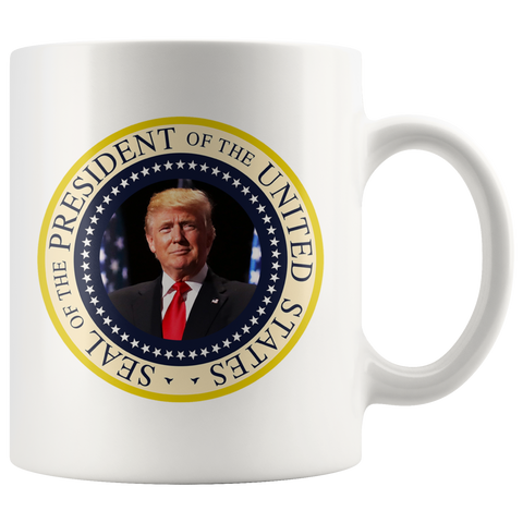 Presidential Seal Mug - THE MAGA SHOP