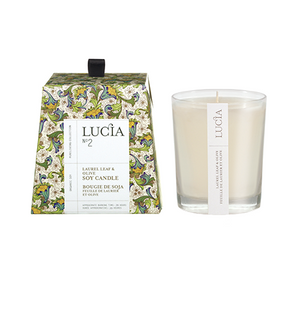 Olive Blossom and Laurel Leaf Soy Candle