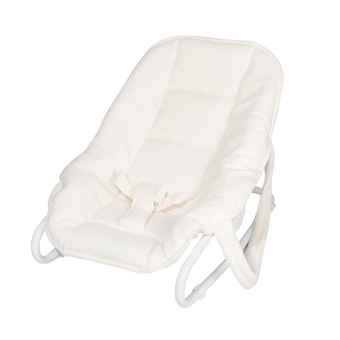 Baby bouncer with cover Diamond Ivory