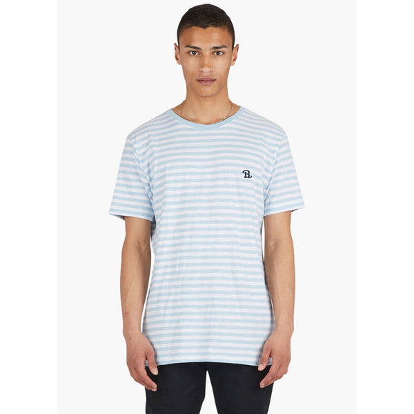 Barney Cools B.Schooled Tee-Blue Stripe
