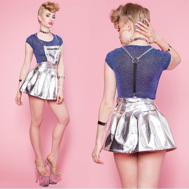 24HRS Life On Mars Space Cadet Apron Dress