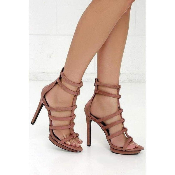 Privileged Lomora Ladies Heels-Salemonster