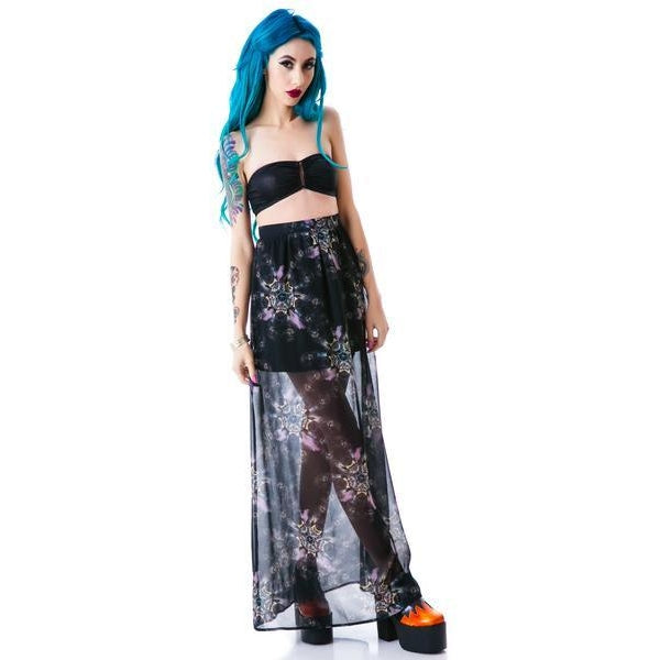 Iron Fist Clothing Nightmare Catcher Maxi Skirt