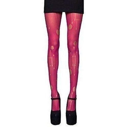 LIP SERVICE CYBER TIGHTS HOT PINK