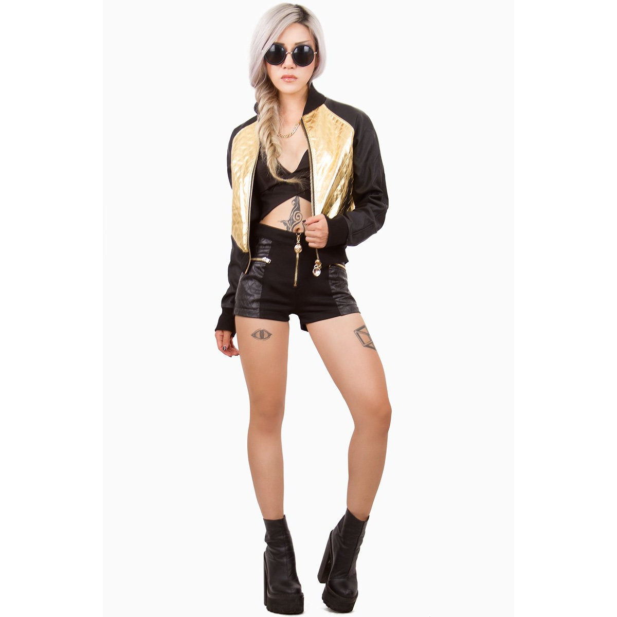 24 HRS  Queen Of Jungle Jacket Gold