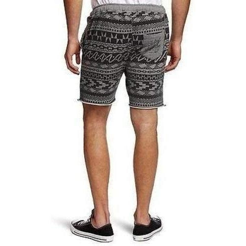 HEATHER GRAY LOUNGER SHORTS - Salemonster