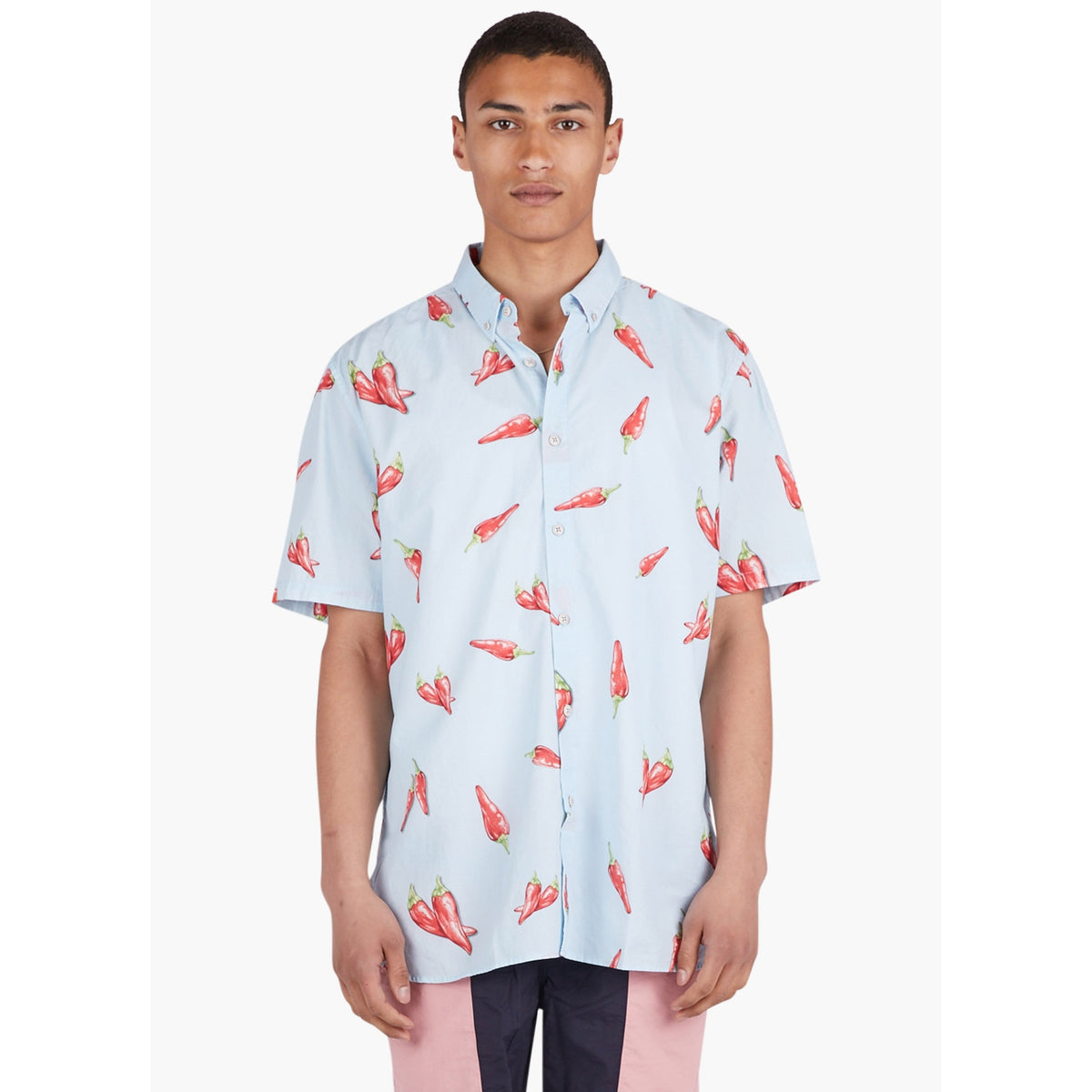 Tourist Short Sleeve Shirt Chilli Print