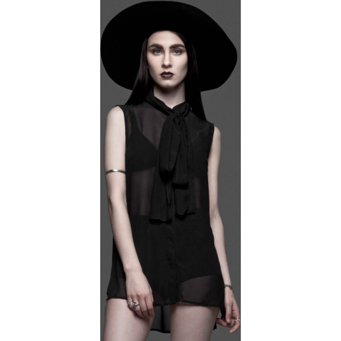Widow Sexed Up Preacher Chiffon Blouse