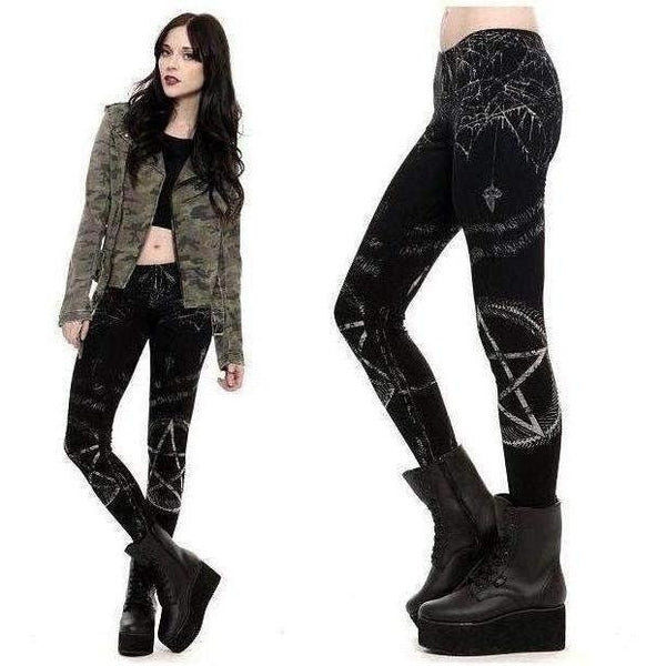 LIP SERVICE PENTAGRAM LEGGINGS - Salemonster