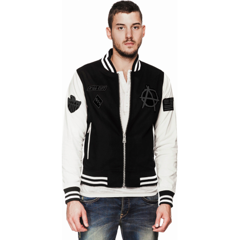 Kill City Varsity Racer Unisex Jacket-Salemonster