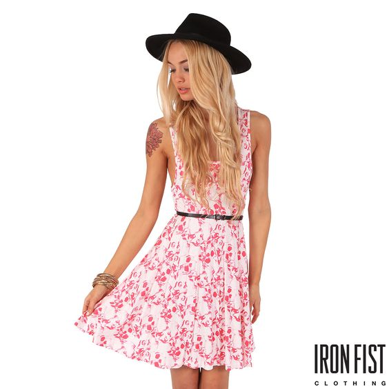 Iron Fist Kutna Jersey Dress