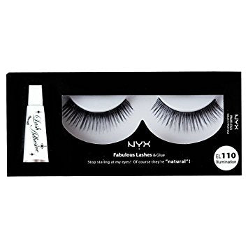 NYX Fabulous Lashes & Glue - 110 - Illumination
