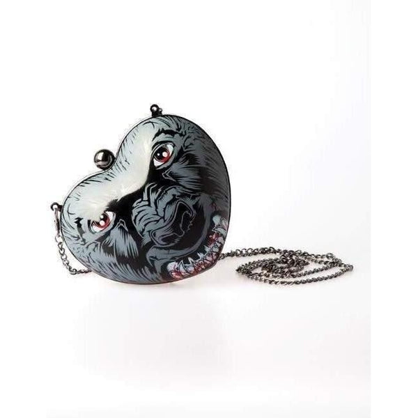 IRON FIST WOLF BEATER CLUTCH BAG