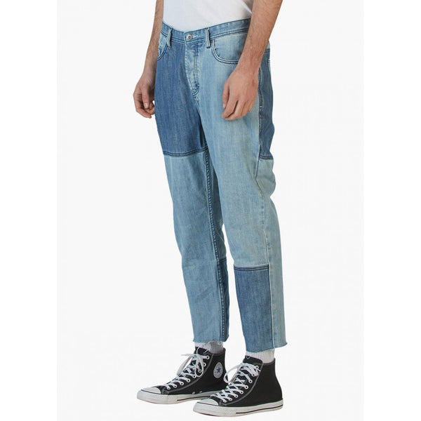 Barney Cools B.Relaxed Crop Jean (Relaxed Fit) 90's Panel Indigo