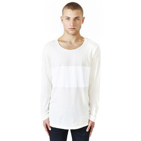 Copy of Kill City Men's L/S Tee White
