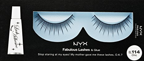 NYX Fabulous Lashes & Glue - 114 - Chic
