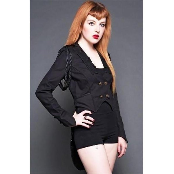 Lip Service Ladies Herringbone Ringmaster Jacket