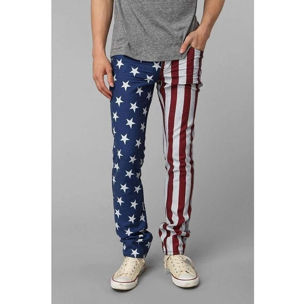 Kill City Men's American Flag Denim-Salemonster