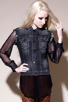 Kill City Ladies  Western Jacket