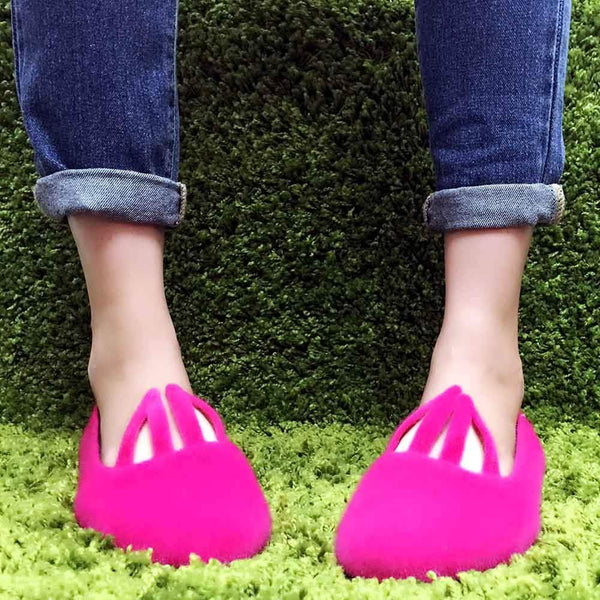 Cute To The Core Hopper Bunny Flats-Salemonster
