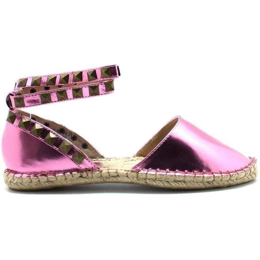 CUTE TO THE CORE MANDY PINK SANDALS