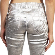 KILL CITY LADIES NEEDLE FIT SUPER SLIM - SILVER FOIL - Salemonster
