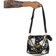 Iron Fist Bowed Over Shoulder Bag-Salemonster