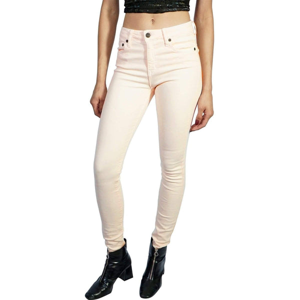 KILL CITY LADIES HIGH WIRE TWILL SKINNY JEANS - LIGHT PINK - LPK - Salemonster