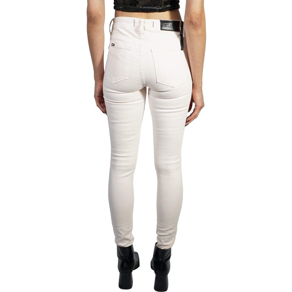 KILL CITY LADIES HI WIRE FIT SRETCH TWILL JEANS MADE IN USA WHITE 63-675 - Salemonster