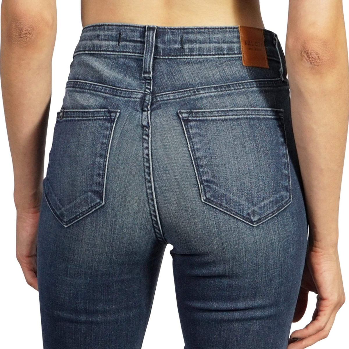 KILL CITY LADIES HI WIRE FIT JEANS MADE IN USA CLR LVB 64-673 - Salemonster