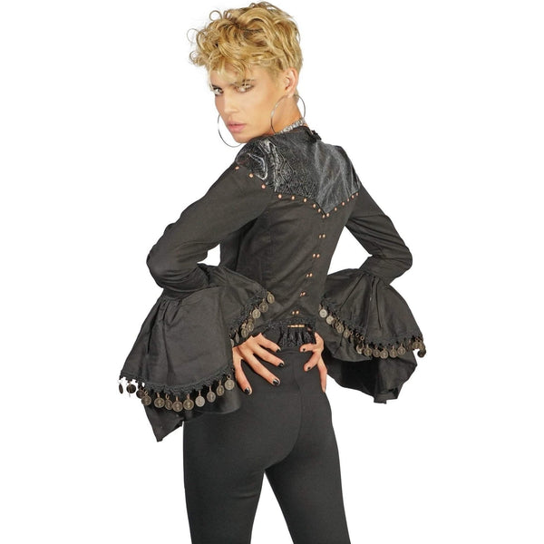 Lip Service Gypsy Bell Sleeved Jacket-Salemonster