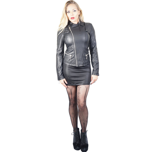 Kill City Quilted Leather & Moto Jacket