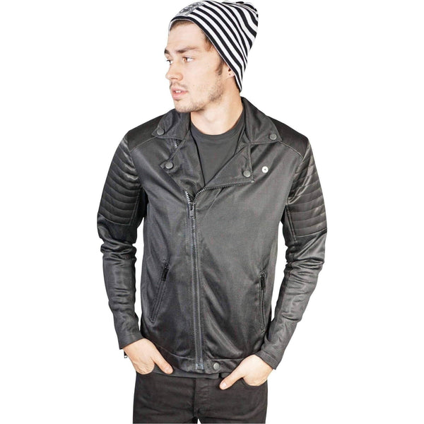 Kill City Raider Mesh Moto Men Jacket-Salemonster