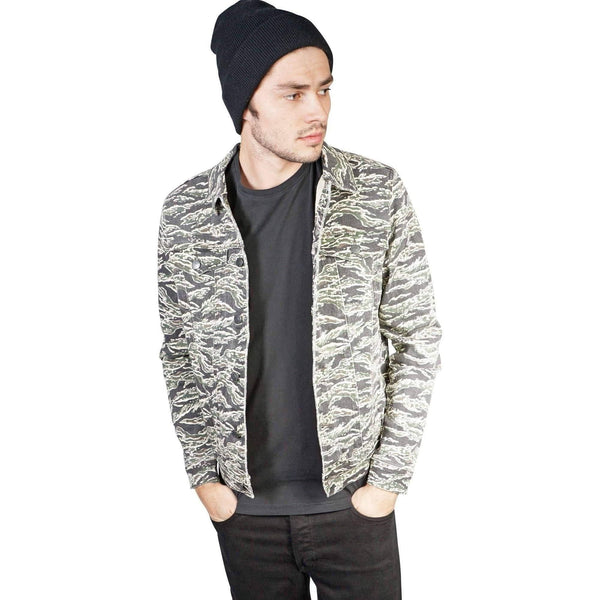 Kill City Mens Camo Moto Jacket-Salemonster
