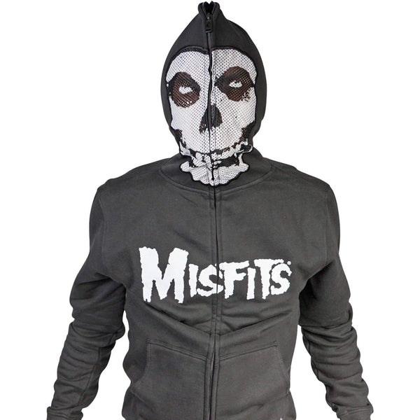 Iron Fist Mitsfit Feind Skull Hoodie With Zip Mask-Salemonster