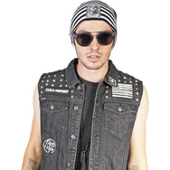 Kill City Mens Denim Black-Salemonster