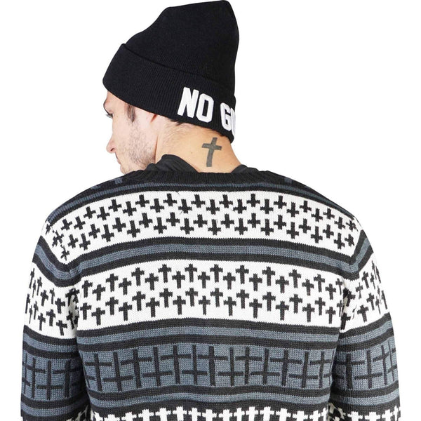 Kill City Mens Cross Sweater-Salemonster