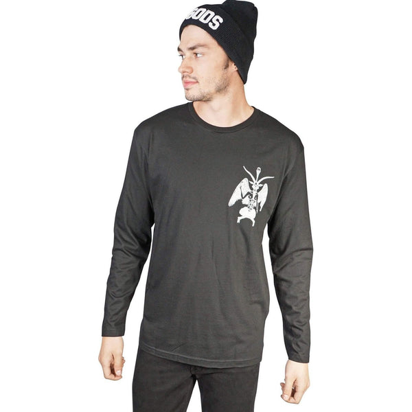 Lip Service Mens Devil Ls Graphic Tee-Salemonster