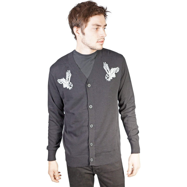 Kill City Mens Black Phoenix Sweater-Salemonster