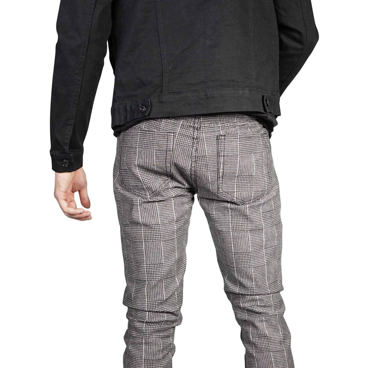 RUDE Grey Glen Plaid Skinny Fit Pants | Hot Topic-Salemonster