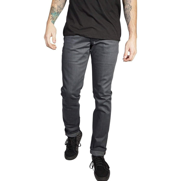 Kill City Men Wire Fit Blue Rigid Denim 90 Day Tour Musicians Jeans-Blue-Grey-Salemonster