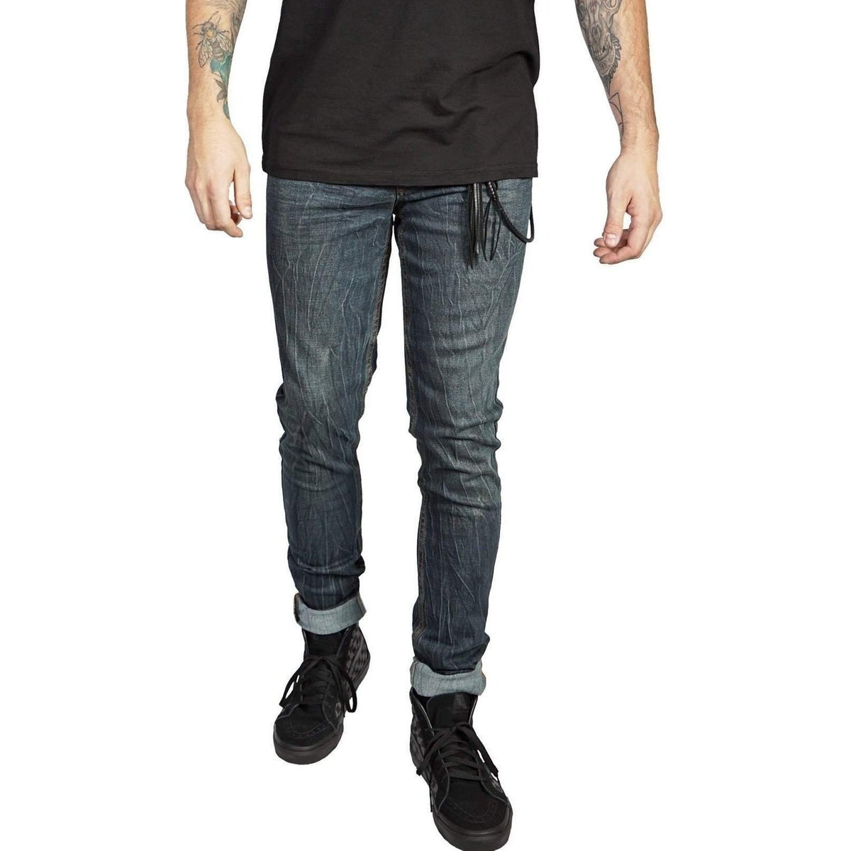 Lip Service Mens Stretch Twill Needle Fit Denim-Salemonster