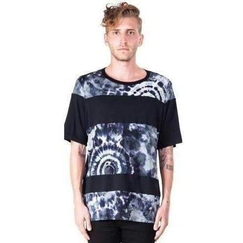 KILL CITY T SHIRT HERMOSA PATTERN BLOCKED TIE DYE MEN TEE - Salemonster