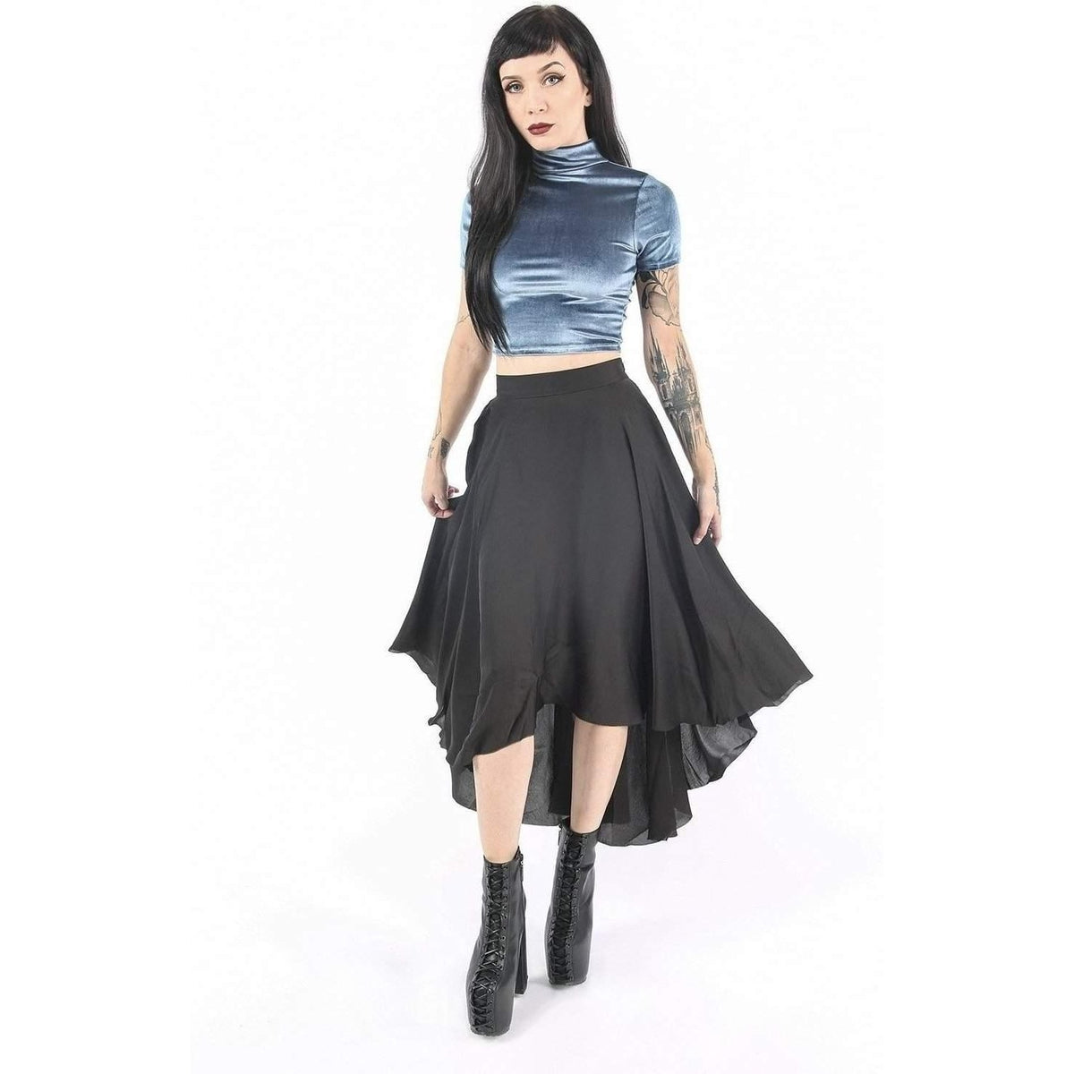 WIDOW FOUR HORSEMEN CROP TOP