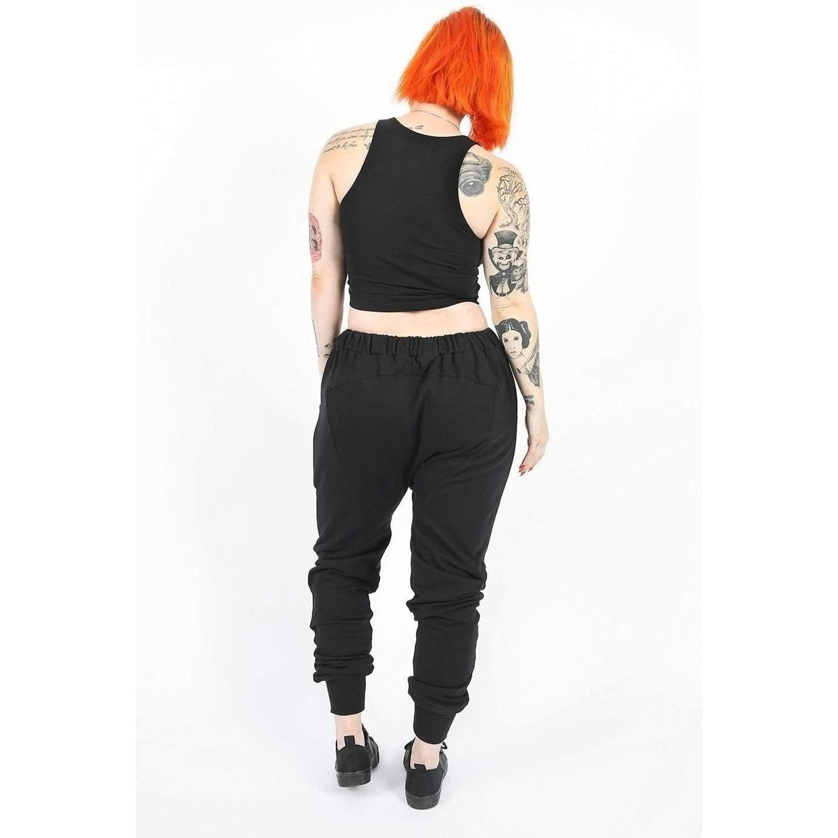 Widow Resurrection Drop Crotch Unisex Pants-Salemonster