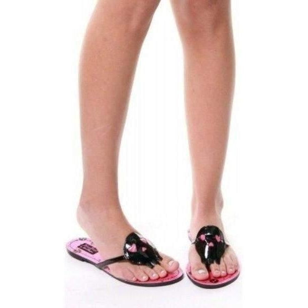 Abbey Dawn Heartcore Flat Sandal - Salemonster