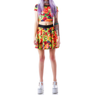 24 HRS Ladies 5 Day Fruit Skater Skirt