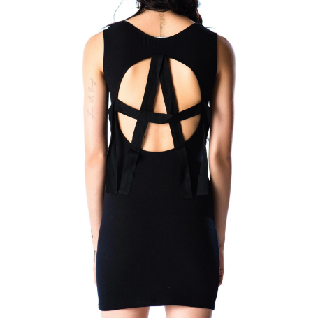 Lip Service Cult Back Anarchy Dress