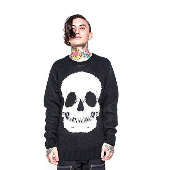 Iron Fist Skull Sweater SYFG