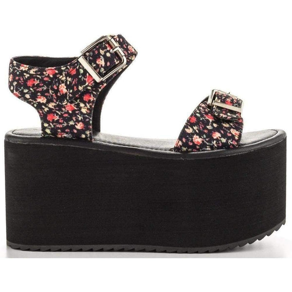 Yru Women'S Orion Platforms Floral-Salemonster